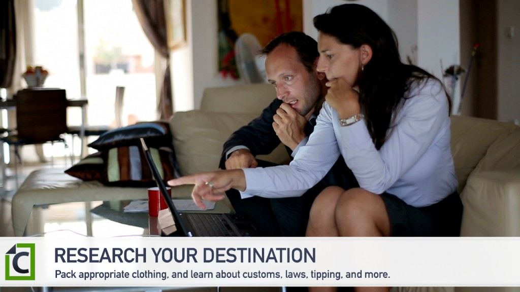 distination
