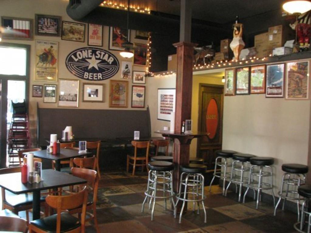 Inside dining room at Fox Bros. Bar-B-Q in Atlanta