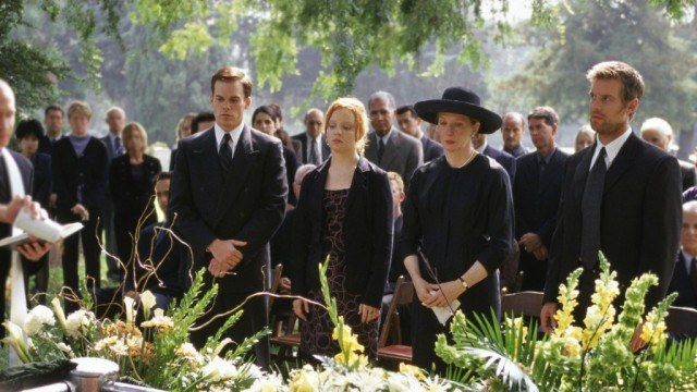 The Fisher family, in HBO's quirky drama 'Six Feet Under'