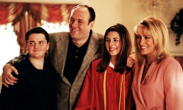 The titular family of HBO's groundbreaking drama, 'The Sopranos'