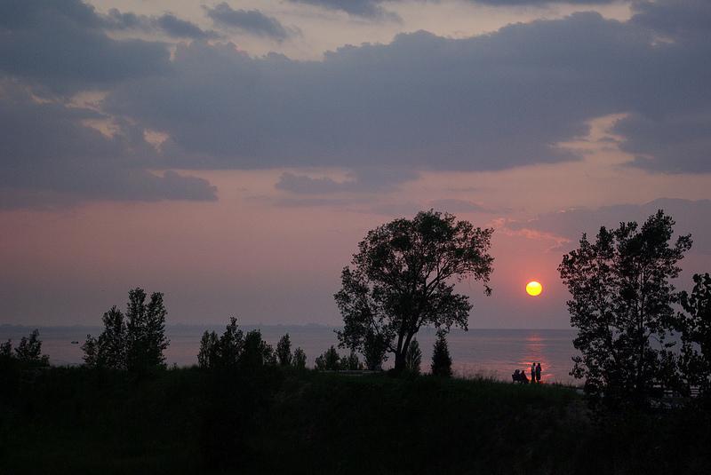 Indiana Dunes National Lakeshore sunset