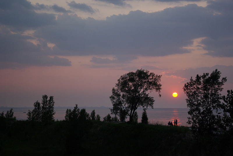 Indiana Dunes National Lakeshore sunset