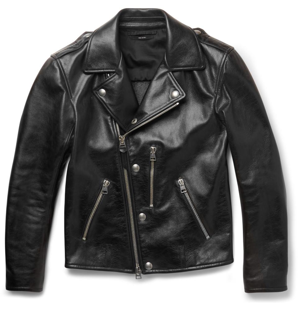 Mr porter leather jacket
