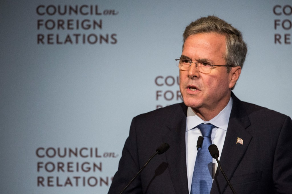 Jeb Bush has low energy