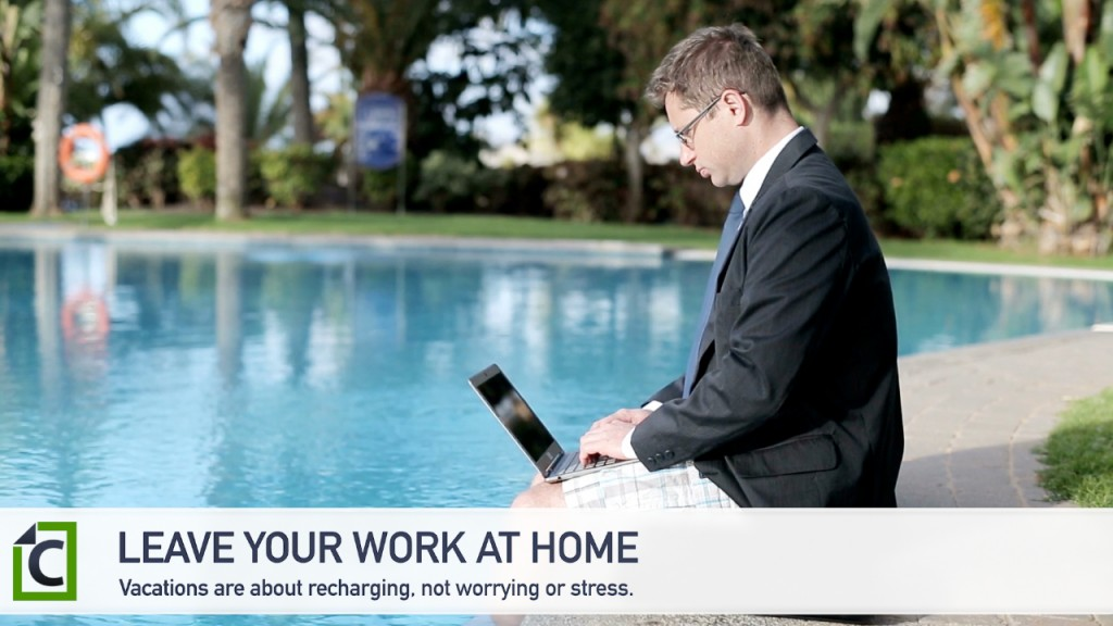 leave work at home