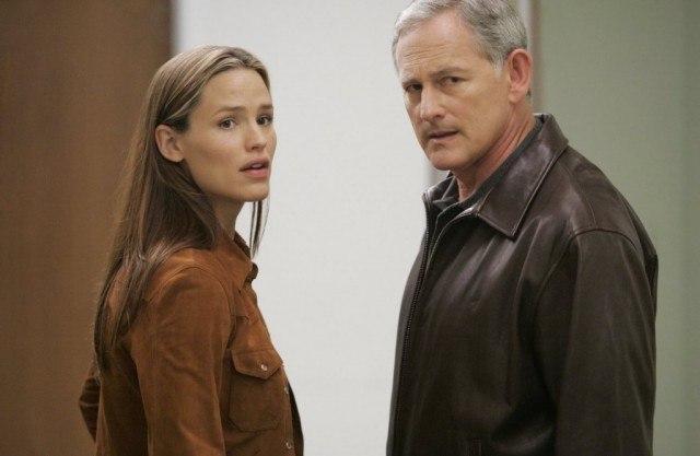 Jennifer Garner and Victor Garber in 'Alias'