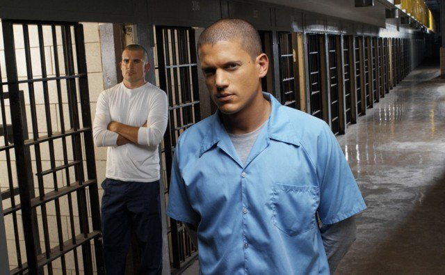 Dominic Purcell and Wentworth Miller in 'Prison Break'