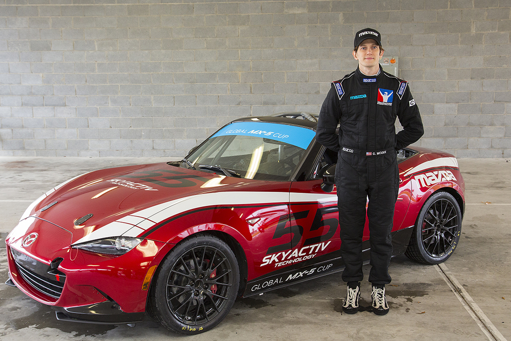mazda shows us how to become a race car driver. Black Bedroom Furniture Sets. Home Design Ideas