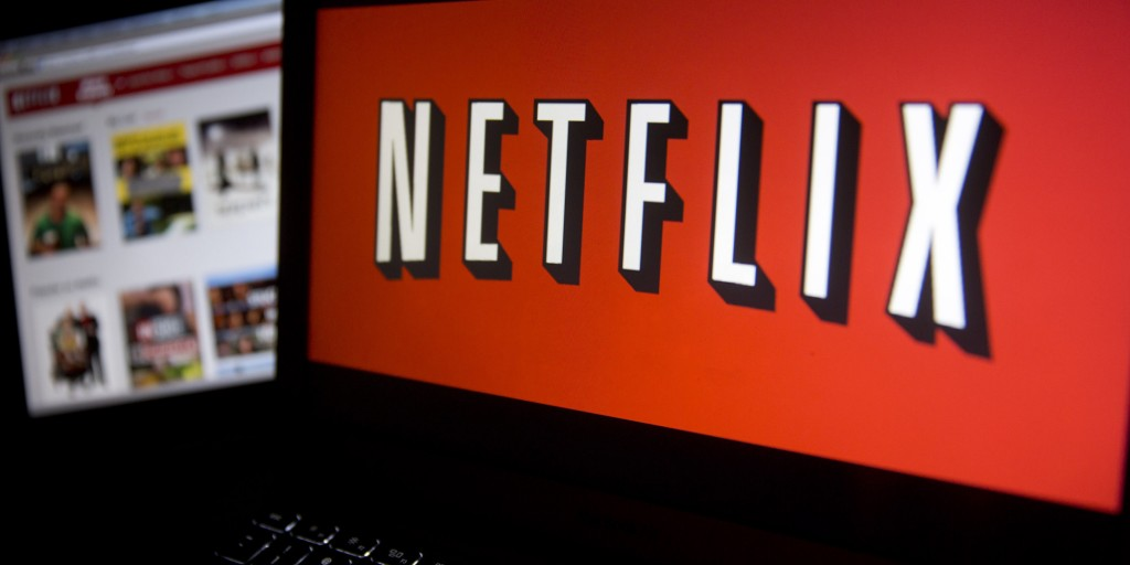 Netflix screen