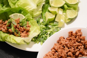 Try This 15-Minute Recipe: Soy-Ginger Pork Lettuce Wraps