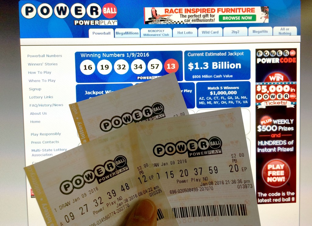 powerball jackpot and tickets