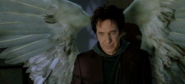 Alan Rickman as Metatron in 'Dogma'