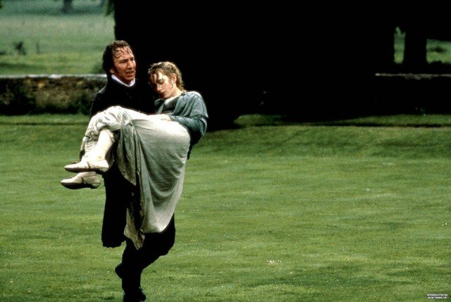 Alan Rickman and Kate Winslet in 'Sense and Sensibility'