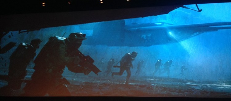 Star Wars: Rogue One, Comic-Con Teaser