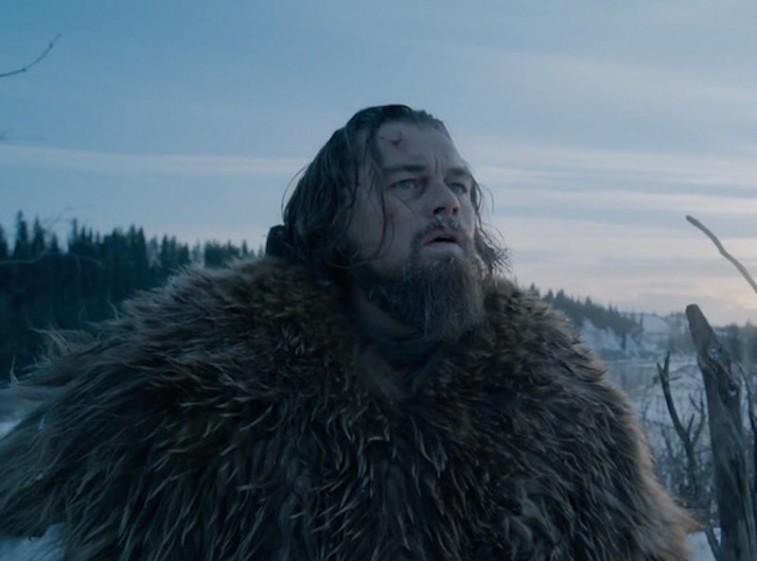Leonardo DiCaprio in his Oscar-winning portrayal of Hugh Glass in 'The Revenant'