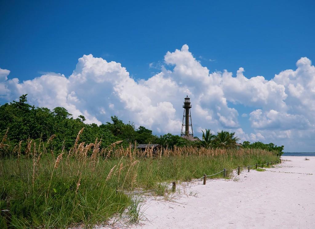 Lighthouse on Sanibel island, Florida