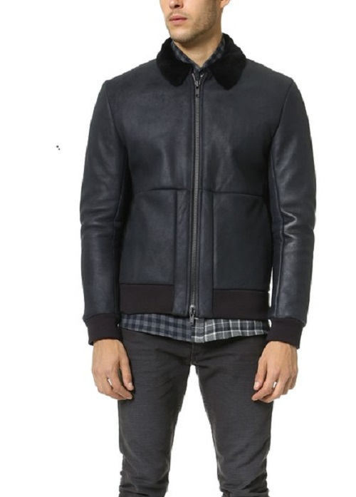leather shearling jacket