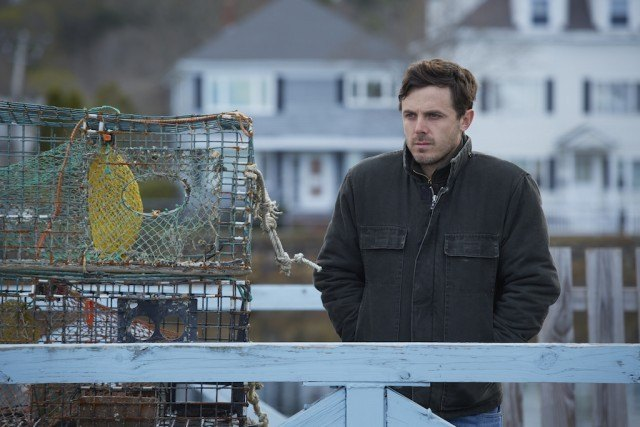Lee (Casey Affleck) in 'Manchester By The Sea'