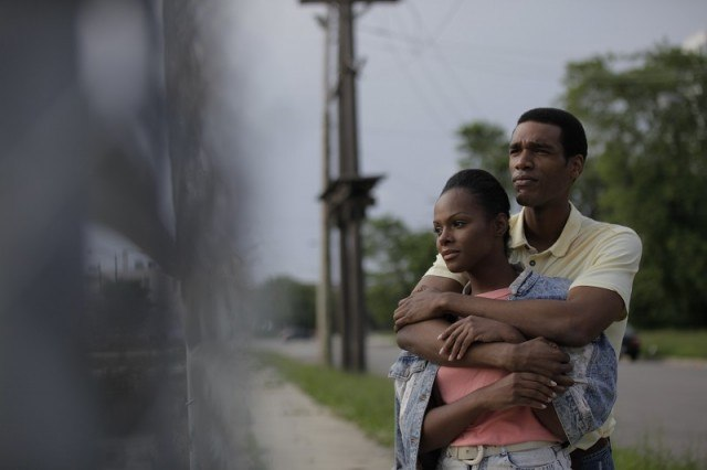 Parker Sawyers and Tika Sumpter as Barack Obama and Michelle Robinson in 'Southside With You'