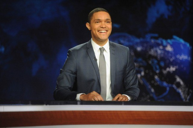Trevor Noah as the new host of 'The Daily Show'