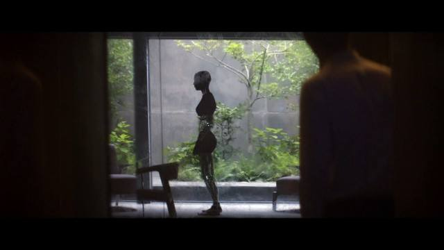 Alicia Vikander as Ava in Ex Machina