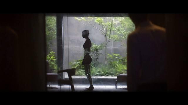 Alicia Vikander as Ava in Ex Machina