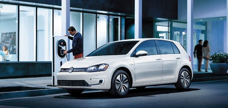 Volkswagen e-Golf, the automaker's lone EV on the US market