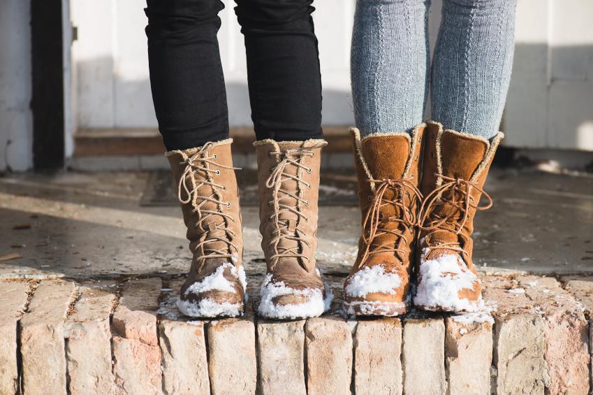 winter long boots