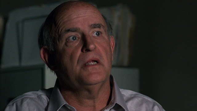Peter Boyle as Clyde Bruckman in 'The X-Files.'