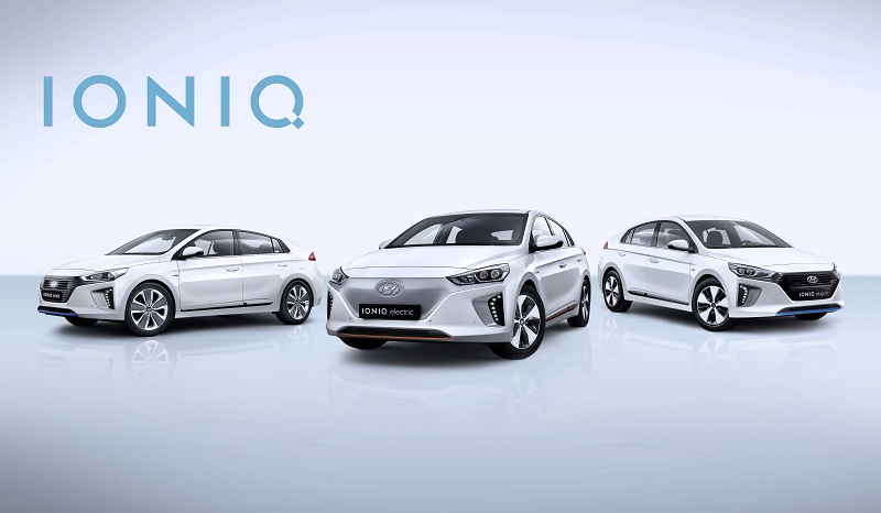 All-New Hyundai IONIQ Line-up GMS 2016