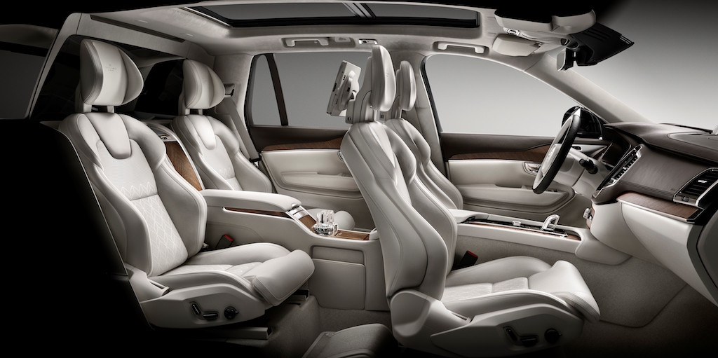 Volvo XC90 with Excellence Package