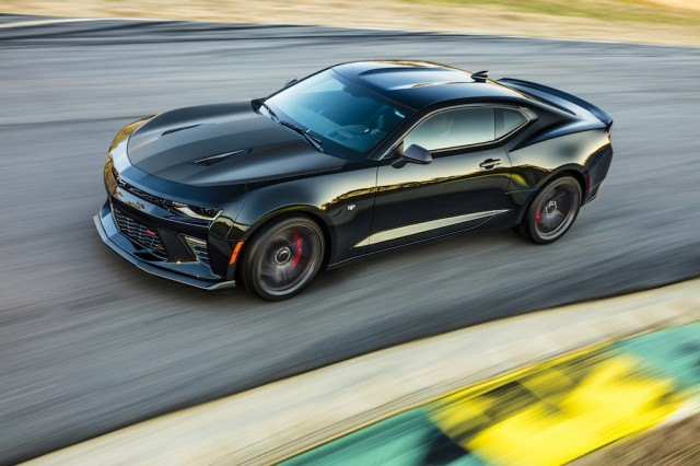 The Chevrolet Camaro 1LE may not be the most powerful model out there, but its track-tuned suspension and unique performance aesthetic touches more than make up for this | Chevrolet