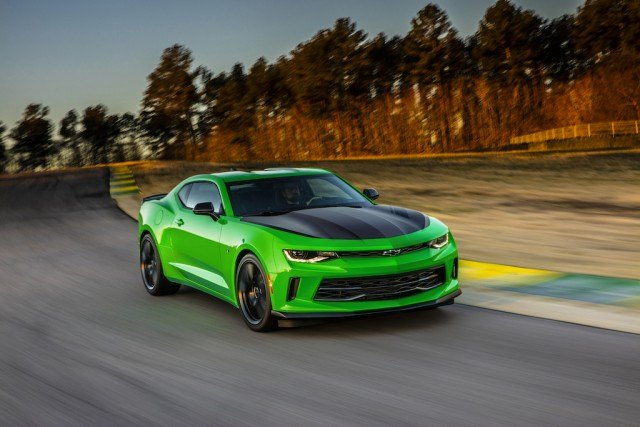 A 2017 Chevrolet Camaro 1LT with a manual gearbox can be upgraded with an entire 1LE track package for a very reasonable fee, making it one of the best bang-for-the-buck upgrade options in the entire GM lineup | Chevy