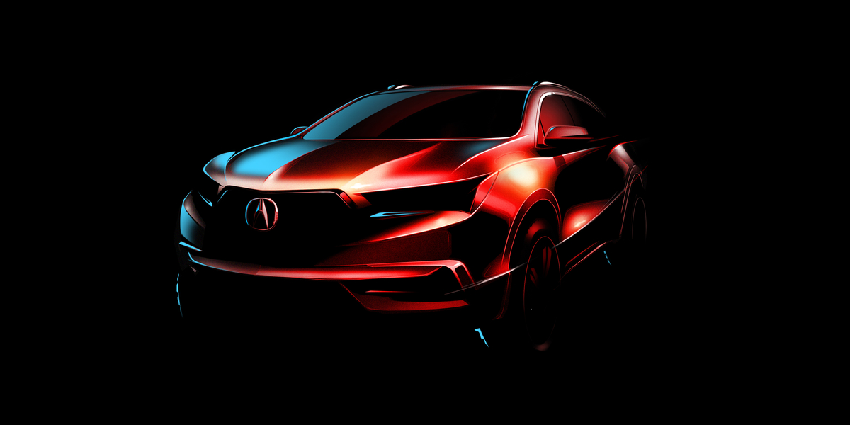 Acura is Giving the MDX a New Lease on Life for 2017