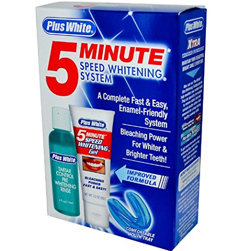 5-minute speed whitening system