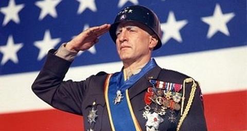 George C. Scott in Patton