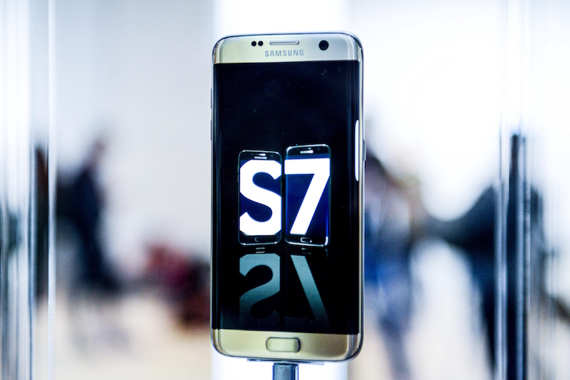 Galaxy S7 with QHD display