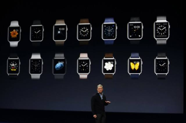 Tim Cook discussing the Apple Watch