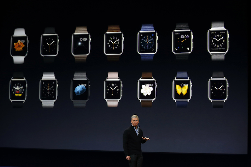 Apple's CEO attempts to sell the public on the Apple Watch
