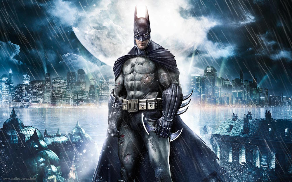 Batman from Arkham Asylum