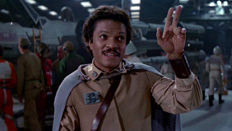 Billy Dee Williams in Star Wars: Return of the Jedi