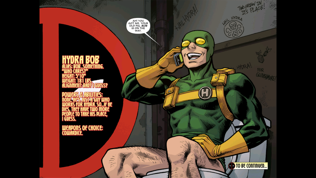 HYDRA Bob - Deadpool, Marvel Comics
