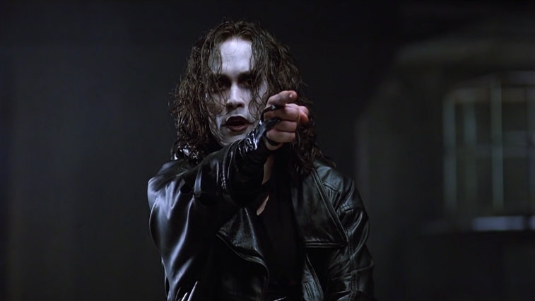 Brandon Lee in The Crow