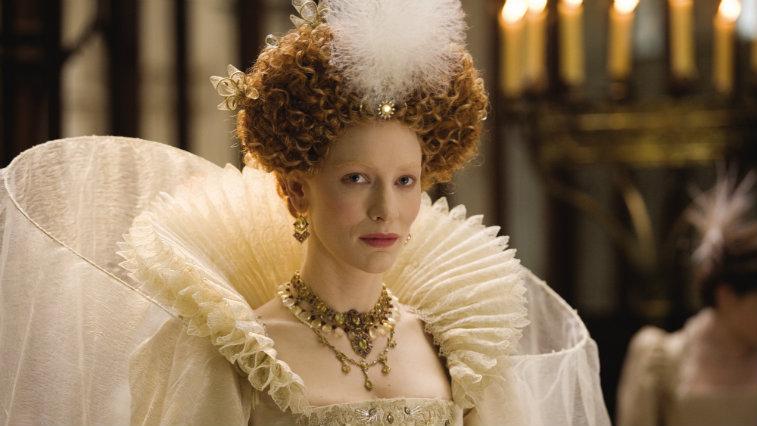 Cate Blanchett in Elizabeth