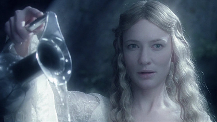 Cate Blanchett in The Lord of the Rings: The Fellowship of the Ring