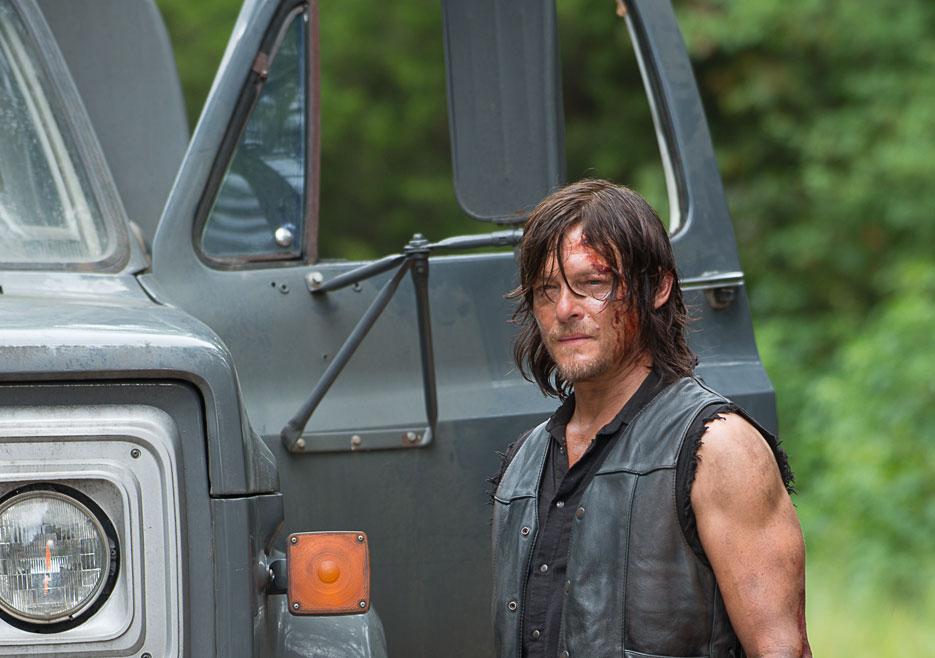 Norman Reedus as Daryl in The Walking Dead