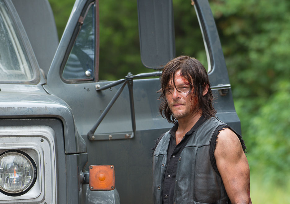 Norman Reedus as Daryl in The Walking Dead