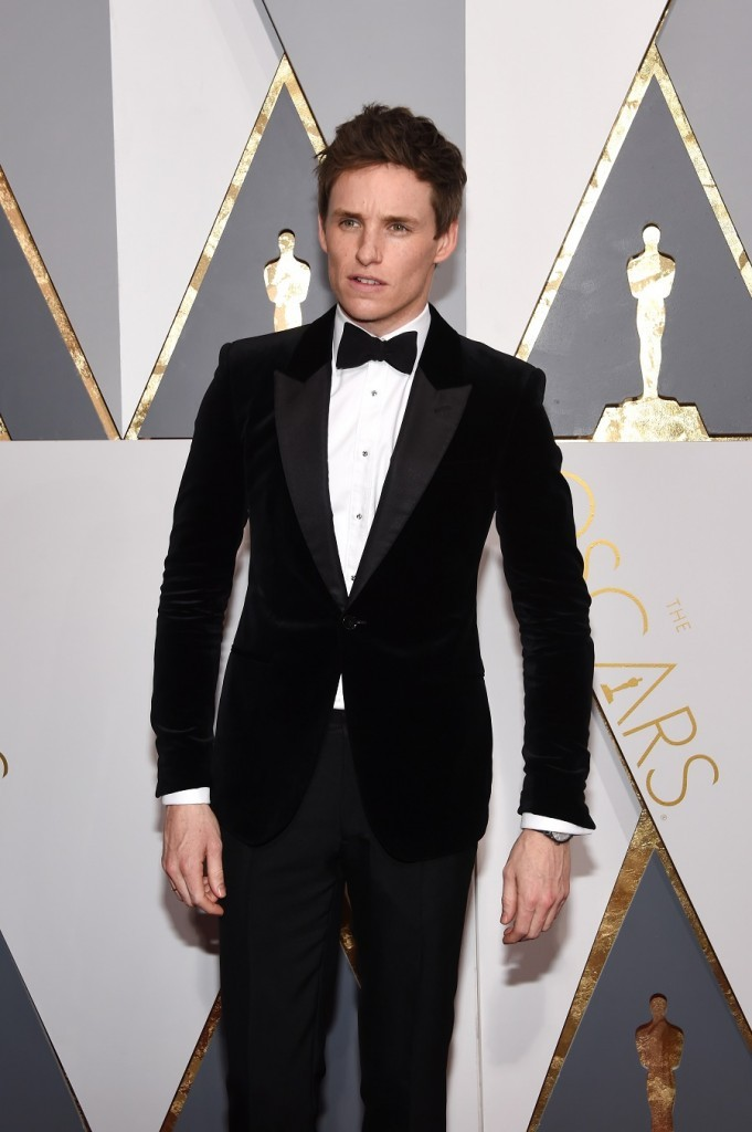 Eddie Redmayne at Academy Awards