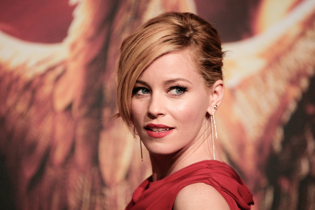 Elizabeth Banks attends the 'The Hunger Games: Mockingjay Part 1' preview