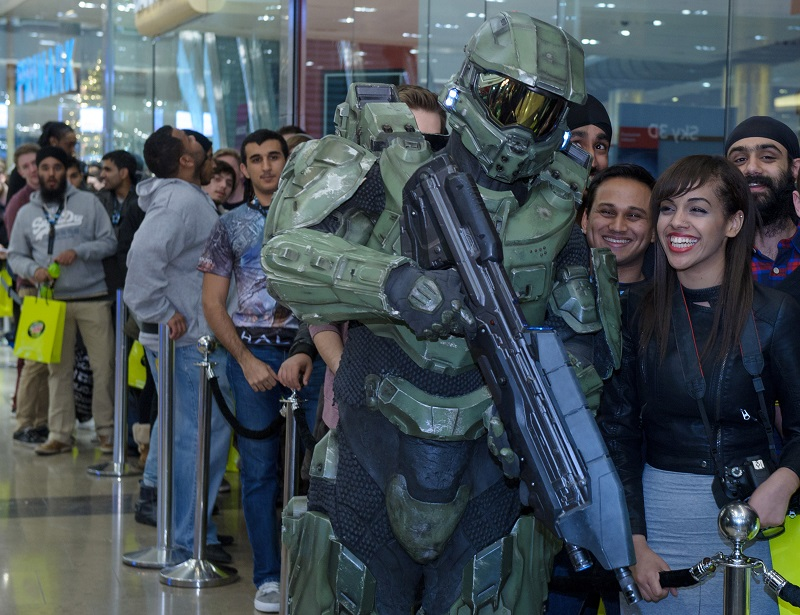 Halo by Xbox360 via Getty Images